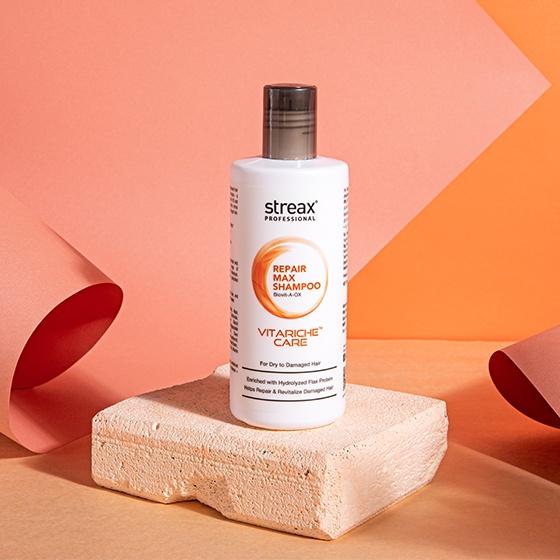 Streax Professioanl Vitariche care Repair max Shampoo