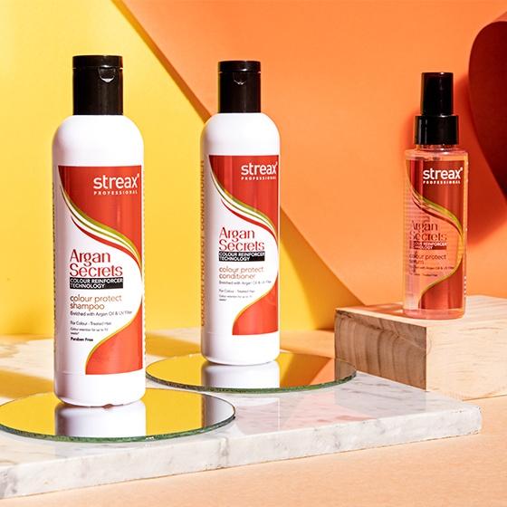 Streax Professional Argan Secret Colour Protect SERUM
