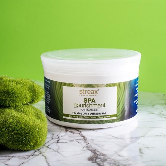 Streax Professional Spa Nourishment Olive