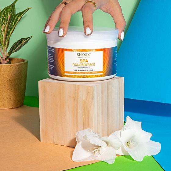 Streax Professional Spa Nourishment Honey