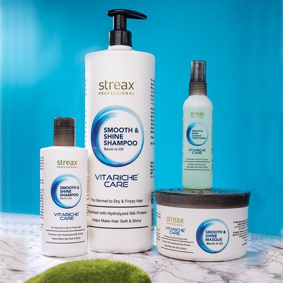 Streax Professional Vitariche care Smooth & shine  Leave-in- Conditioner